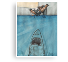 JITS - Mat is Ocean - UNLETTERED Canvas Print