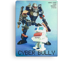Cyber Bully by Tim Constable Canvas Print