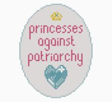 princesses against patriarchy by aiexturner