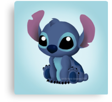 Chibi Stitch  Canvas Print