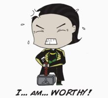 "Loki - ""I am worthy!"" by laufeyson"