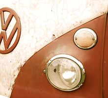VW Camper Van Badge by jodilei