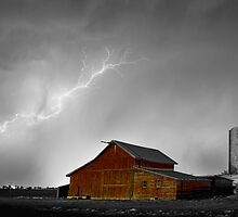 Watching The Storm From The Farm BWSC by Bo Insogna