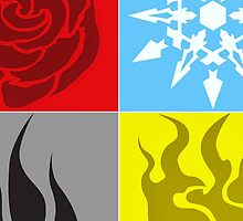 RWBY Symbols Enlarged by andio393