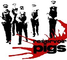 Reservoir Pigs by ShiptonShop