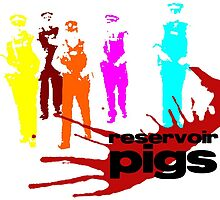 Reservoir Pigs (PC Colour) by ShiptonShop