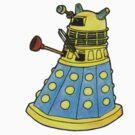 Blue Dalek by RiverbyNight