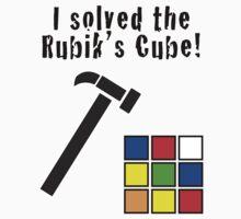 I Solved the Rubik's Cube T-Shirt