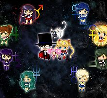 Sailor Moonies by artwaste