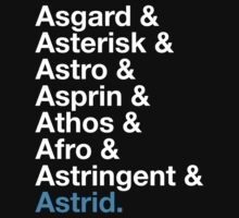 Astrid? by qindesign