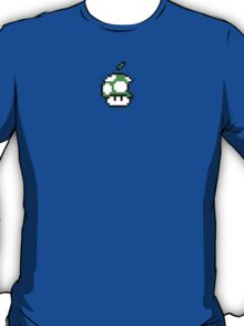 1up Apple Logo T-Shirt
