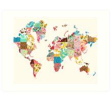 Be An Explorer Of The World Art Print