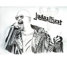 Rob Halford - Judas Priest Photographic Print