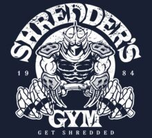 Shredder's Gym Kids Clothes