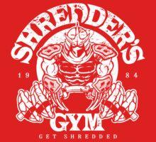 Shredder's Gym Kids Clothes