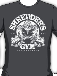 Shredder's Gym T-Shirt