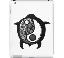 Yin Yang Turtle iPad Case/Skin