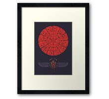 Sacred Sun Framed Print