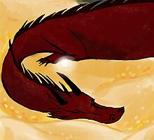 Happy Smaug, Sleepy Smaug, BURN BURN BURN by choreolanus