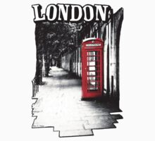 London on the Phone - British Phone Booth by Mark Tisdale