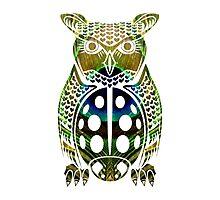Owl, Peacock, Ladybug Mashup by skyewalkerr