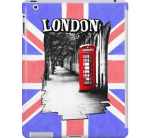 London on the Phone - British Phone Booth iPad Case/Skin