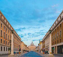 Vatican city by Mats Silvan