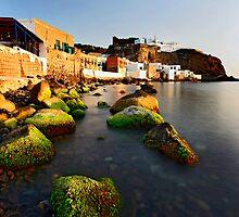 Mandraki village, Nisyros island by Hercules Milas