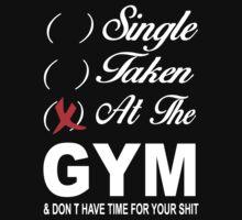 Single - Taken - At the Gym by seazerka