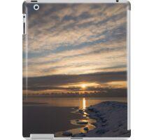 New Day on Ice - Sunrise on Lake Ontario  iPad Case/Skin