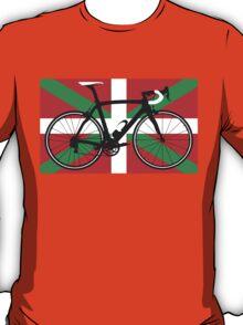 Bike Flag Basque (Big - Highlight) T-Shirt