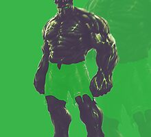 The Incredible Hulk by AbdulrahmanCG