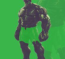 The Incredible Hulk by AbdulrahmanCG