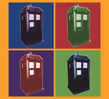 Pop Goes The TARDIS by Towerjunkie