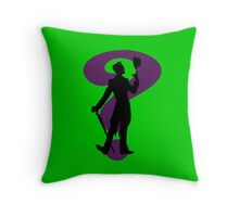 The Riddler Throw Pillow