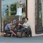 Shoe Shine in SanJuan, Puerto Rico by Scott Larson
