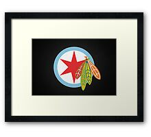 City of the Four Feathers – Alternate Framed Print