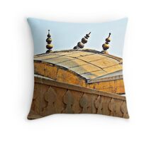 Agra Fort Roof © Throw Pillow