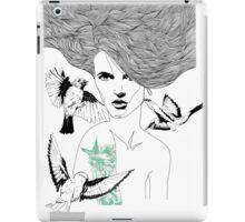 Birdie - Fineliner Illustration iPad Case/Skin
