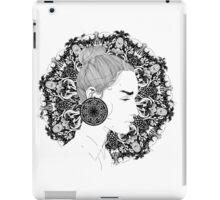 Eva - Fineliner Illustration iPad Case/Skin