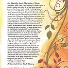 desiderata poem, golden autumn swirls by Desiderata4u