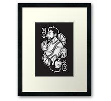 King of Three : Mama Mia Framed Print