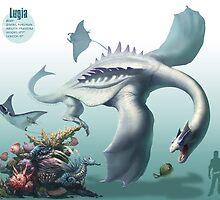 Lugia by RJ Palmer