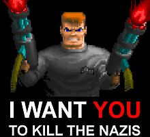 B.J. wants you to kill the Nazis by ABOhiccups