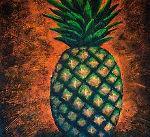 Pineapple by bluegirldesign