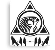 Yeezy Horus Logo Canvas Print