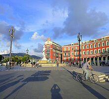 The Place Massena In Nice by Fara