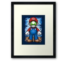 Plumber of Man Framed Print