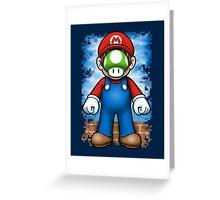 Plumber of Man Greeting Card