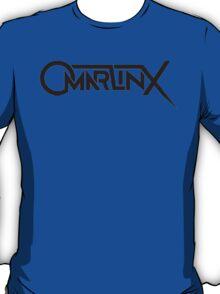 Omar LinX Logo BLACK T-Shirt